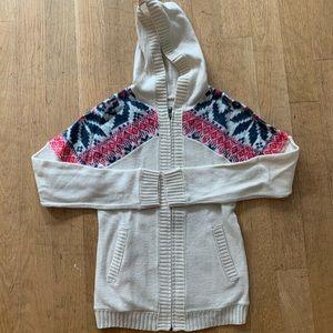 North Face wool hoodie